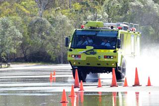 Driving Management Australia emergency vehicle training.