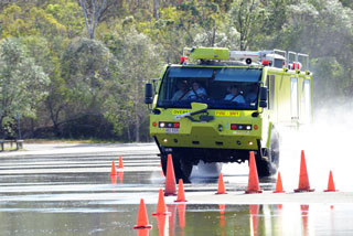 Driving Management Australia emergency vehicle training.